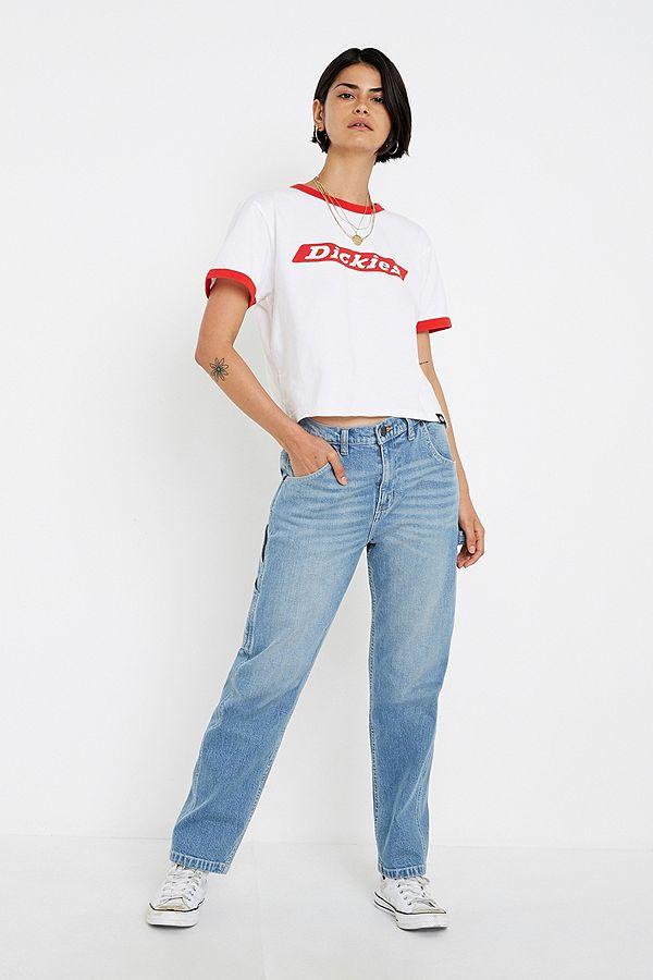 Dickies Park City Light Wash Workwear Skate Jeans