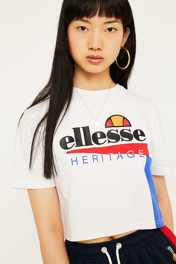 64e4986d71 Ellesse Carezza '90s Crop T-Shirt
