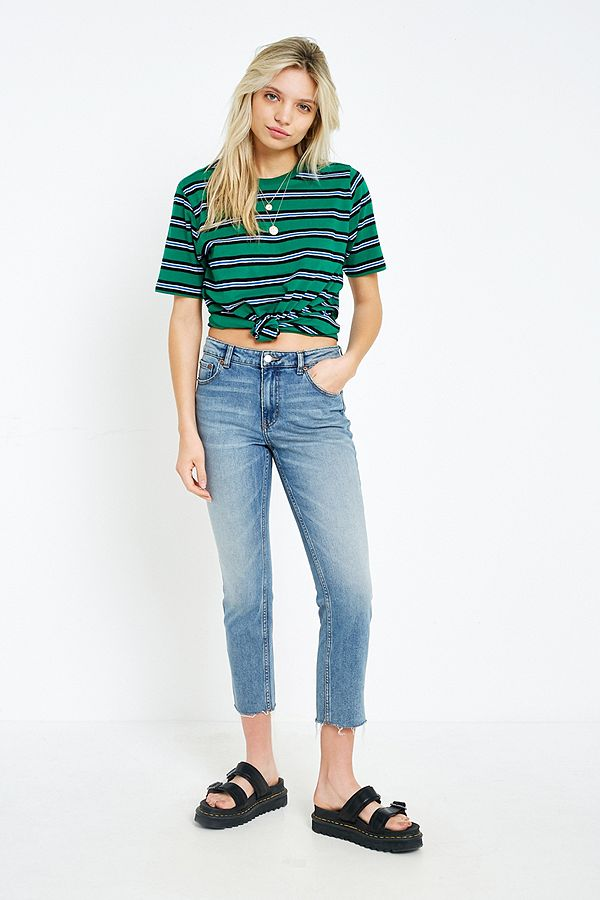 14e6a990a86b52 Cheap Monday Revive Straight Leg Cropped Jeans | Urban Outfitters UK
