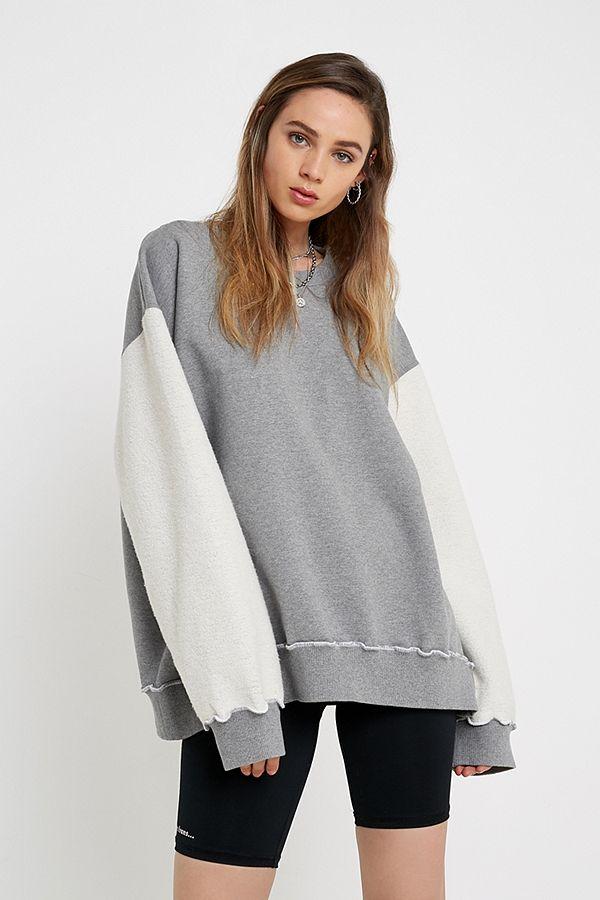 e44ed3ce02 Shoptagr   Iets Frans... Button Through Henley Sweatshirt by Iets ...