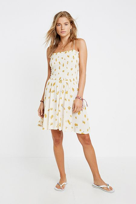 0f5e7a1223d Billabong Floral Beach Mini Dress