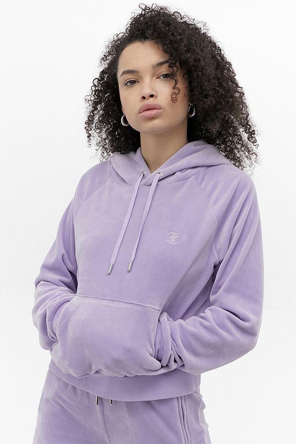 Juicy Couture Sweat à capuche Lilas exclusif à UO