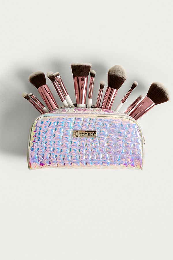 0e3a007e86f31 Slide View  1  bh cosmetics Crystal Quartz 12-Piece Brush Set
