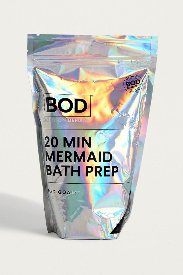20 Minute Mermaid Bath Prep