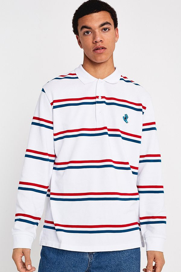 261de3c554 Slide View: 1: Santa Cruz Red, White and Blue Striped Long-Sleeve