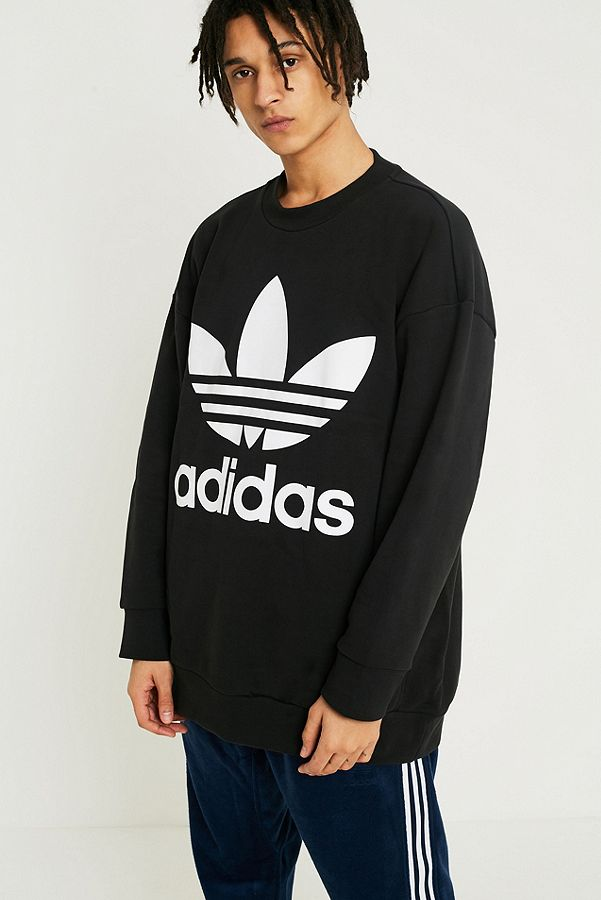 Trefoil Crewneck Sweatshirt