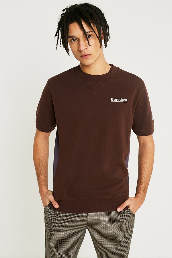 3e1b94f81c16 Champion X Wood Wood Brown Cut About T-Shirt | Urban Outfitters UK