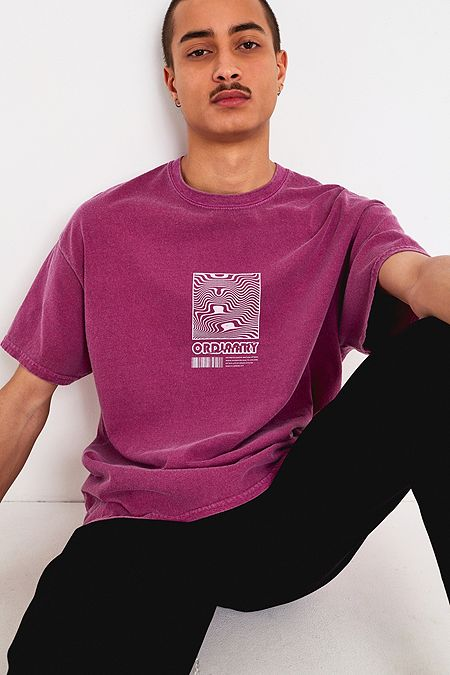 9410f9fe25051 UO Ordinary Pink T-Shirt