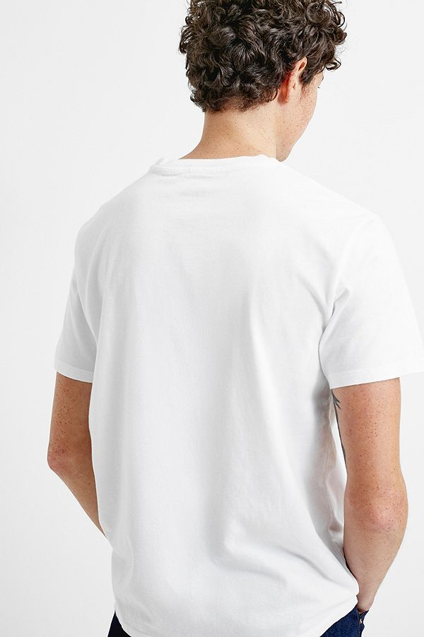 Slide View: 3: Levi's Batwing White T-Shirt