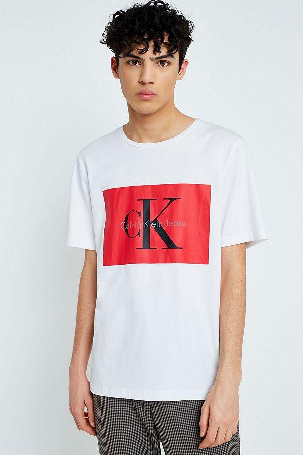 7baba90f006d2b Calvin Klein Tikimo 2 Logo T-Shirt