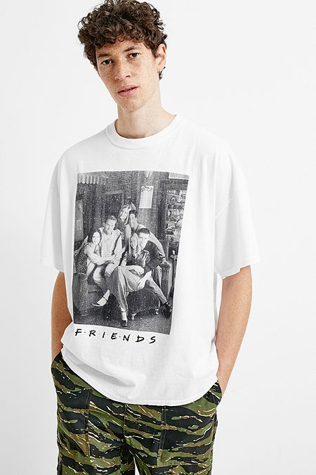 7e4359c1a1d UO Friends White Photo T-Shirt