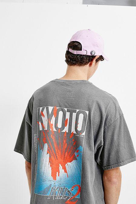 e697f9ac112 UO Kyoto Washed Black T-Shirt