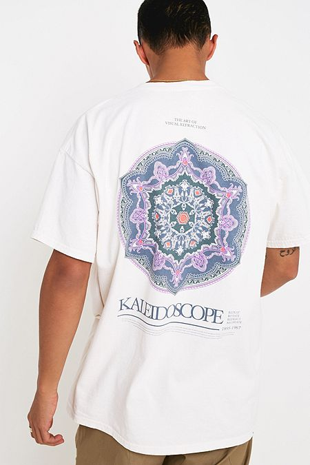 fc34307a388 UO Kaleidoscope Ecru T-Shirt · Quick Shop