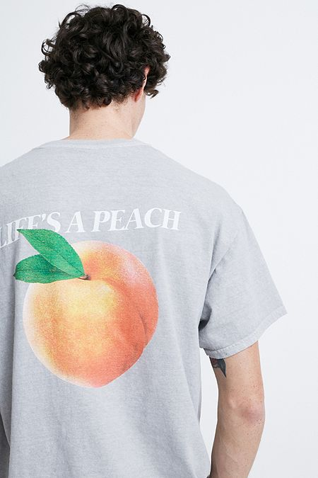334a148c1dd UO Life s A Peach Grey T-Shirt