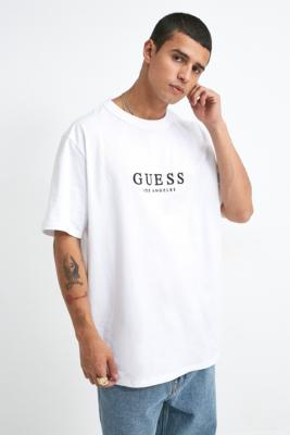 guess logo t shirt dress