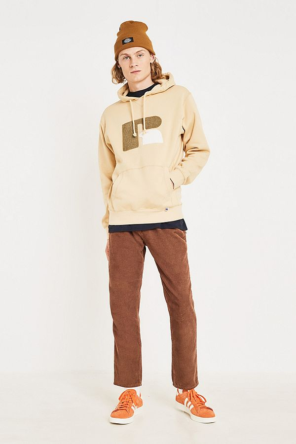"Slide View: 3: Russell Athletic – Hoodie ""Mike"" in Sand"