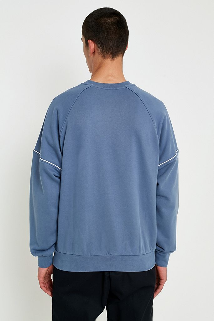 adidas Originals 3 Stripe Raw Steel Pipe Sweatshirt | Urban