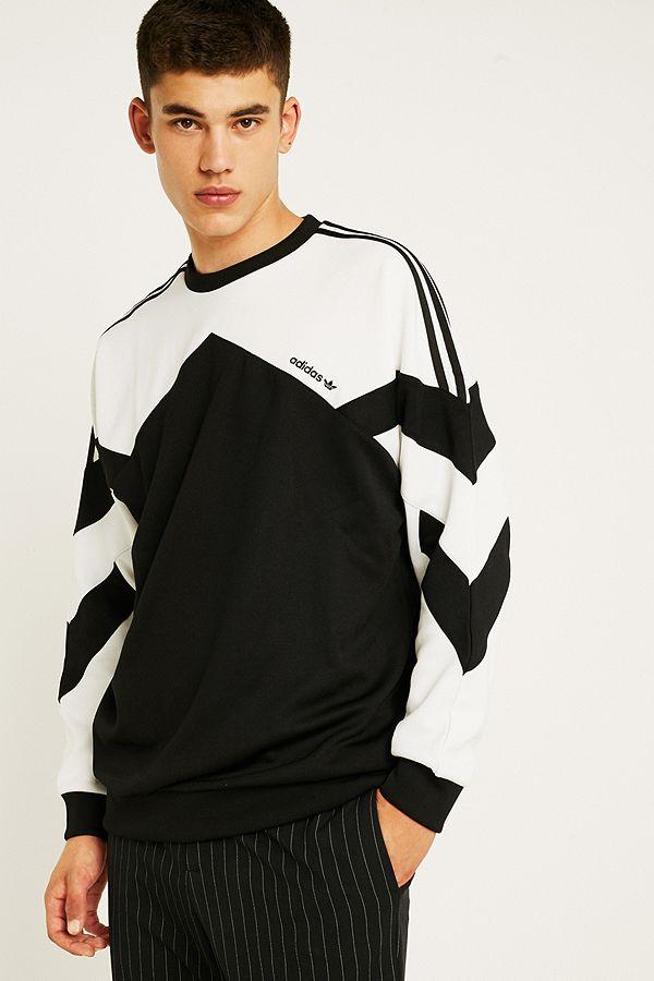 Palmeston Black Adidas Neck Sweatshirt Crew tdChrQs