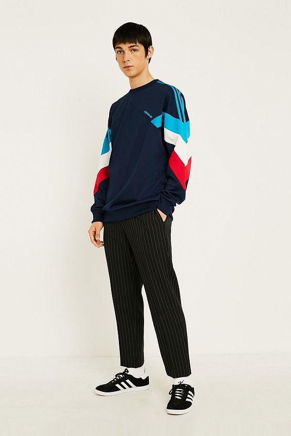 "adidas – Sweatshirt ""Palmeston"" in Marineblau"