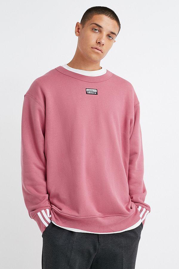 adidas Vocal Trace Maroon Crew Neck Sweatshirt