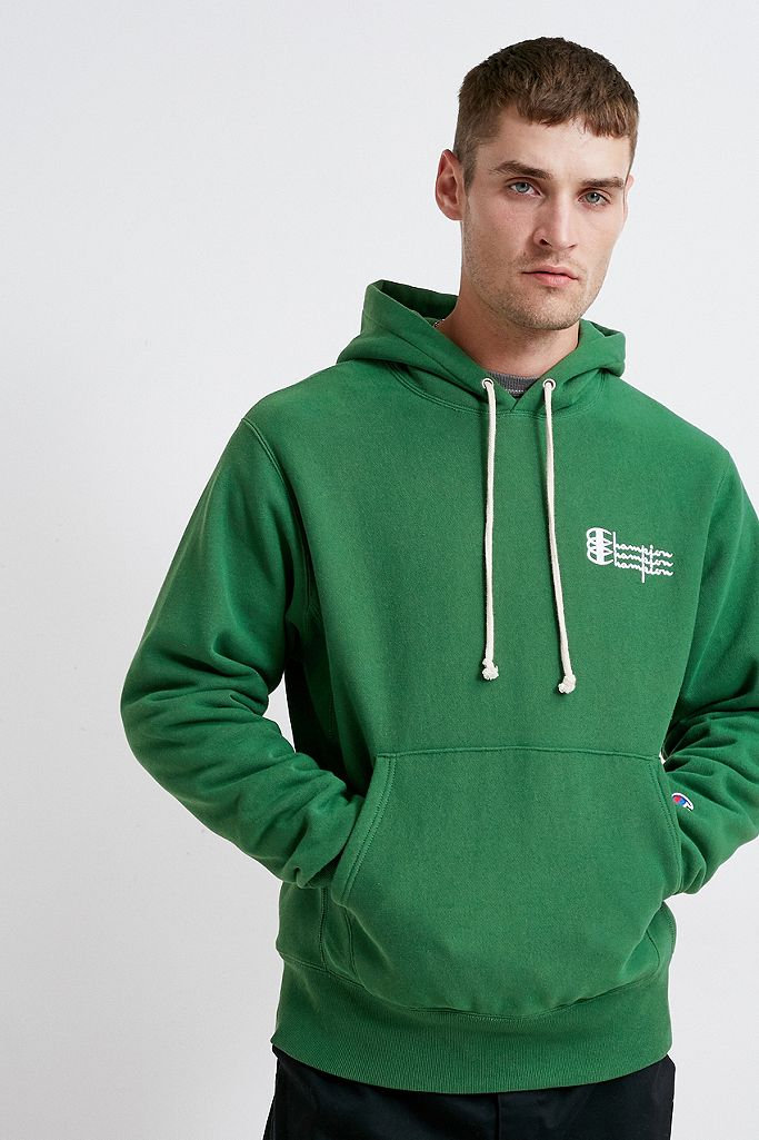Champion UO Exclusive – Hoodie mit Tripel Logo