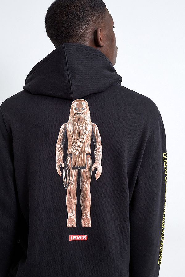 Levi's Sweat à capuche noir Star Wars Chewbacca