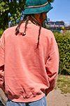 """UO – Sweatshirt """"Peace Dog"""" in Korallenrot #1"""