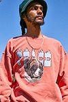 """UO – Sweatshirt """"Peace Dog"""" in Korallenrot #2"""