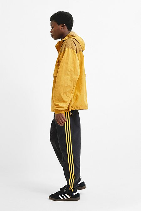 7174b9dd9d90 adidas Woven 3-Stripe Black Track Pants