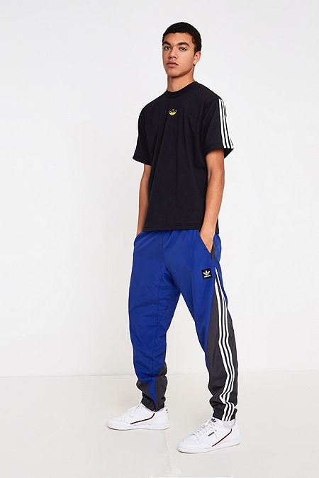 huge discount 16cfa d18ca adidas Insley Blue Track Pants
