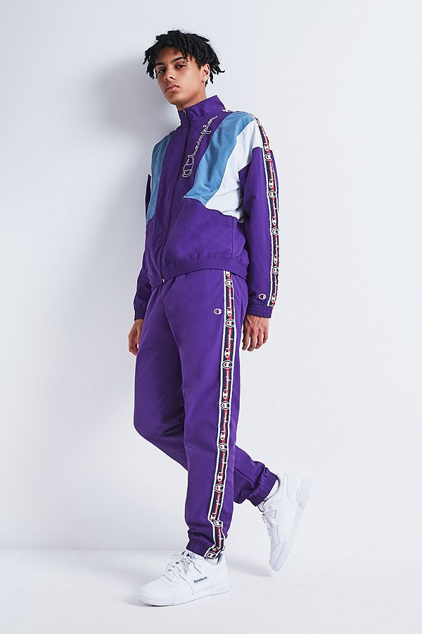 8691e9e073f2 Champion Taped Side Stripe Track Pants