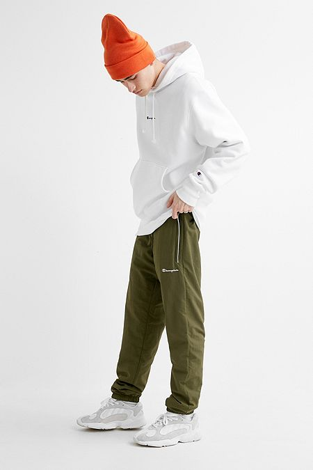 097fee4bfe25 Champion UO Exclusive Khaki Nylon Joggers