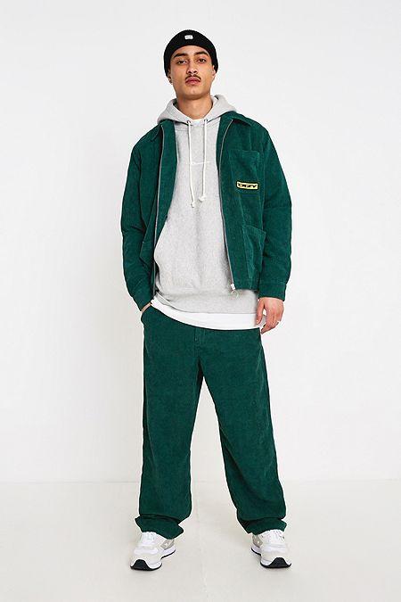 Lazy Oaf Lazy Green Corduroy Trousers 64f500e9b