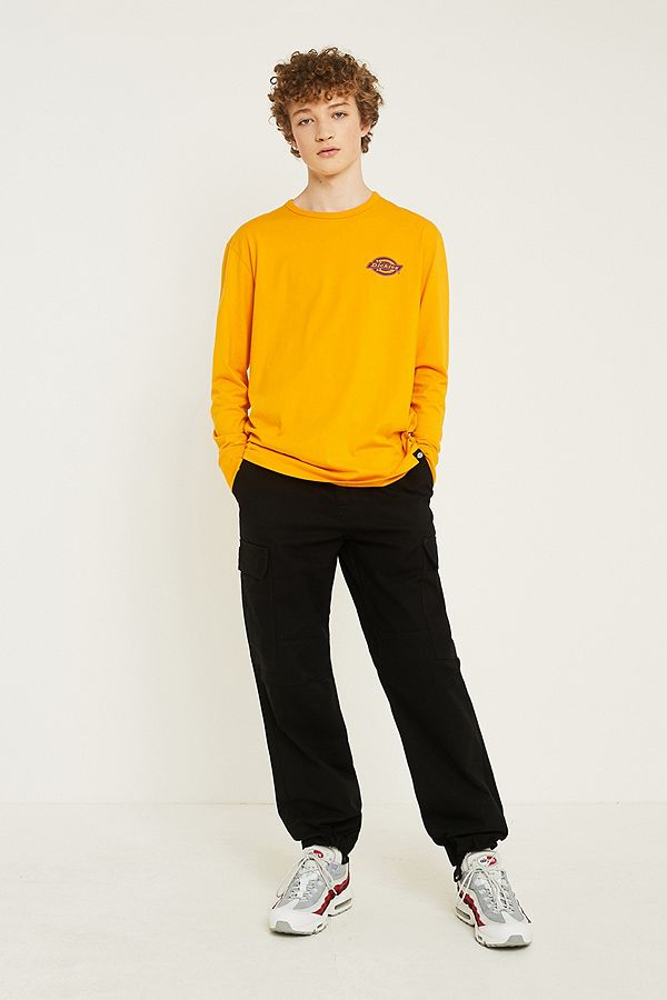 b940a095e7540f Dickies New York Black Cargo Trousers | Urban Outfitters UK