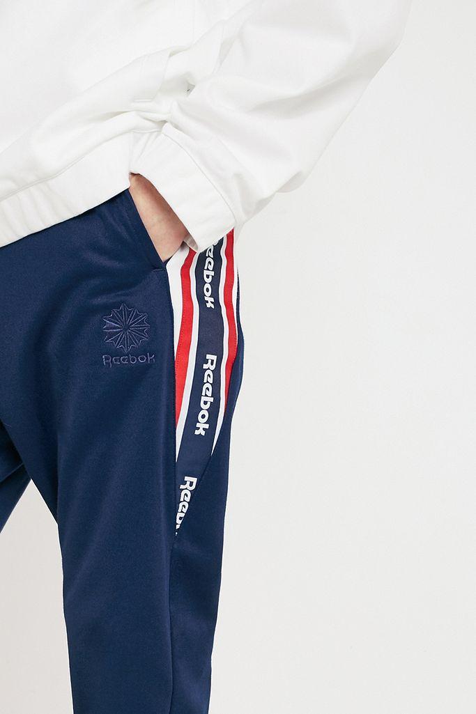 Reebok Franchise Black Track Pants | Urban Outfitters DE