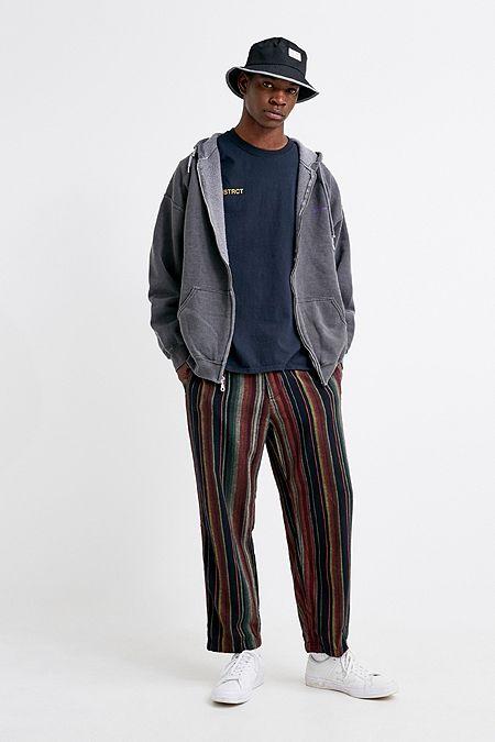 8f0d76d6ddfc UO Multi-Stripe Skate Chino Trousers