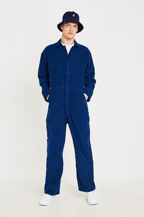 25bad508a31 BDG Utility Blue Boilersuit