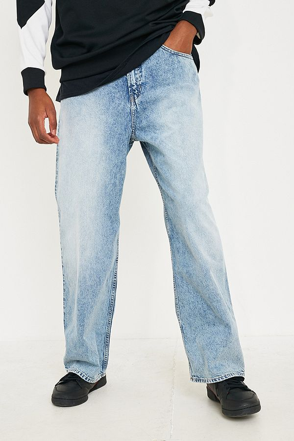 design senza tempo 8a730 72bc4 Cheap Monday Bez Recycled Trash Metal Blue Jeans