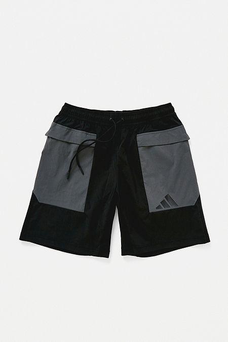 400fa763c0 adidas The Pack Black Shorts