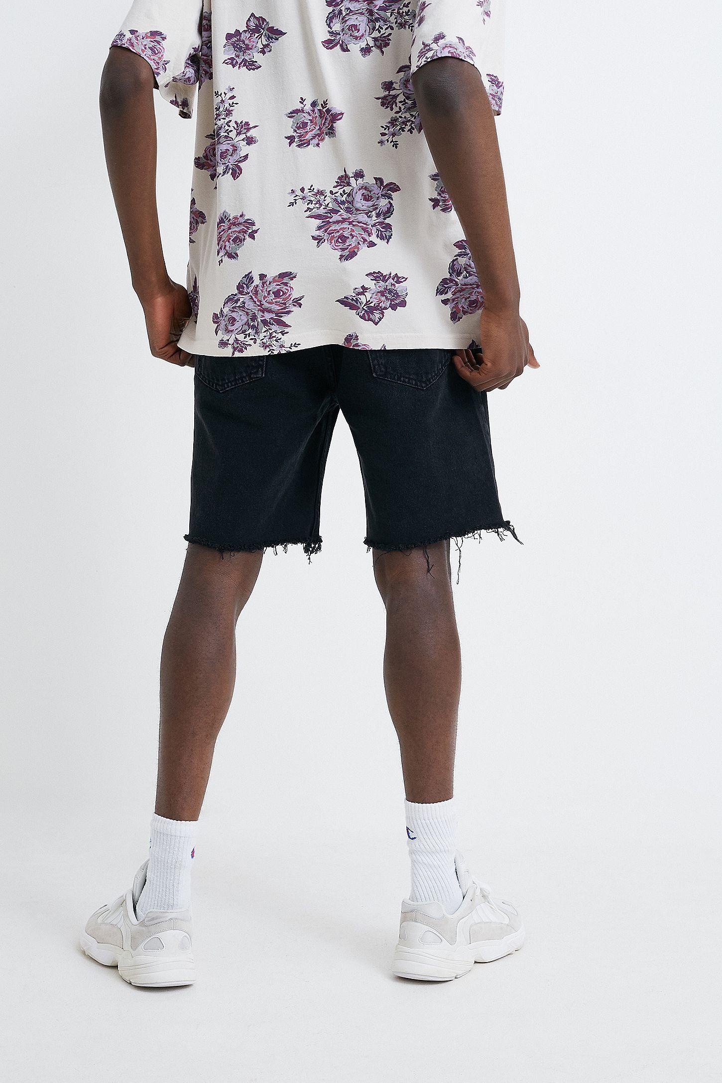 105713d154f6 Slide View  4  BDG Dad True Black Denim Shorts