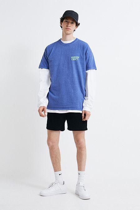 7461116b0ec9 BDG Black Corduroy Drawstring Shorts