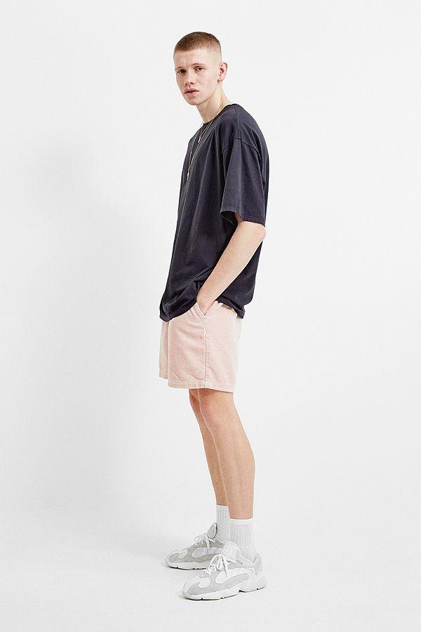 a9395a81ff41 Slide View  1  BDG Pink Corduroy Drawstring Shorts