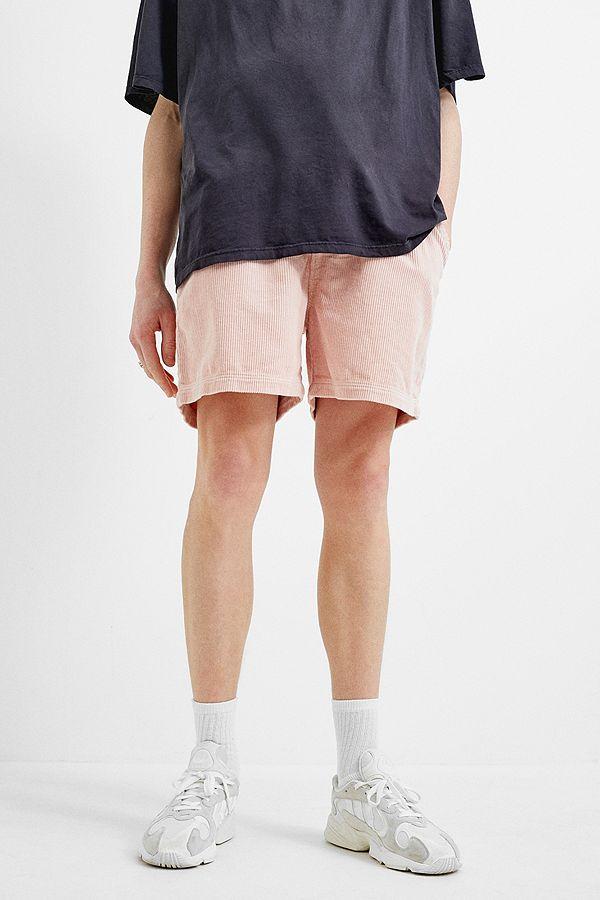 f414b0a2926c Slide View  3  BDG Pink Corduroy Drawstring Shorts