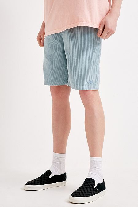 92b4dcfefcad Billabong UO Exclusive Blue Corduroy Shorts