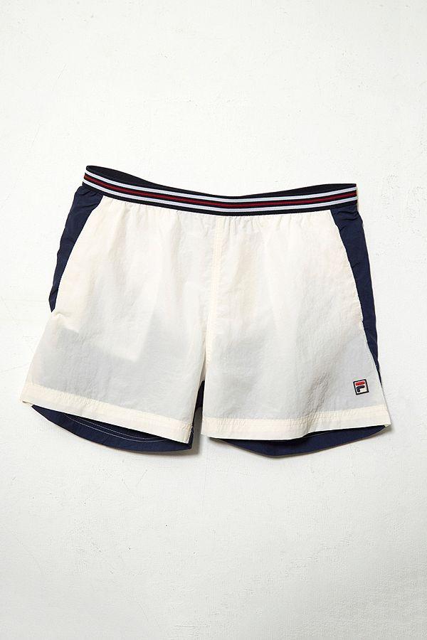 officielle fotos bedste sneakers mode FILA Vintage Ecru Swim Shorts