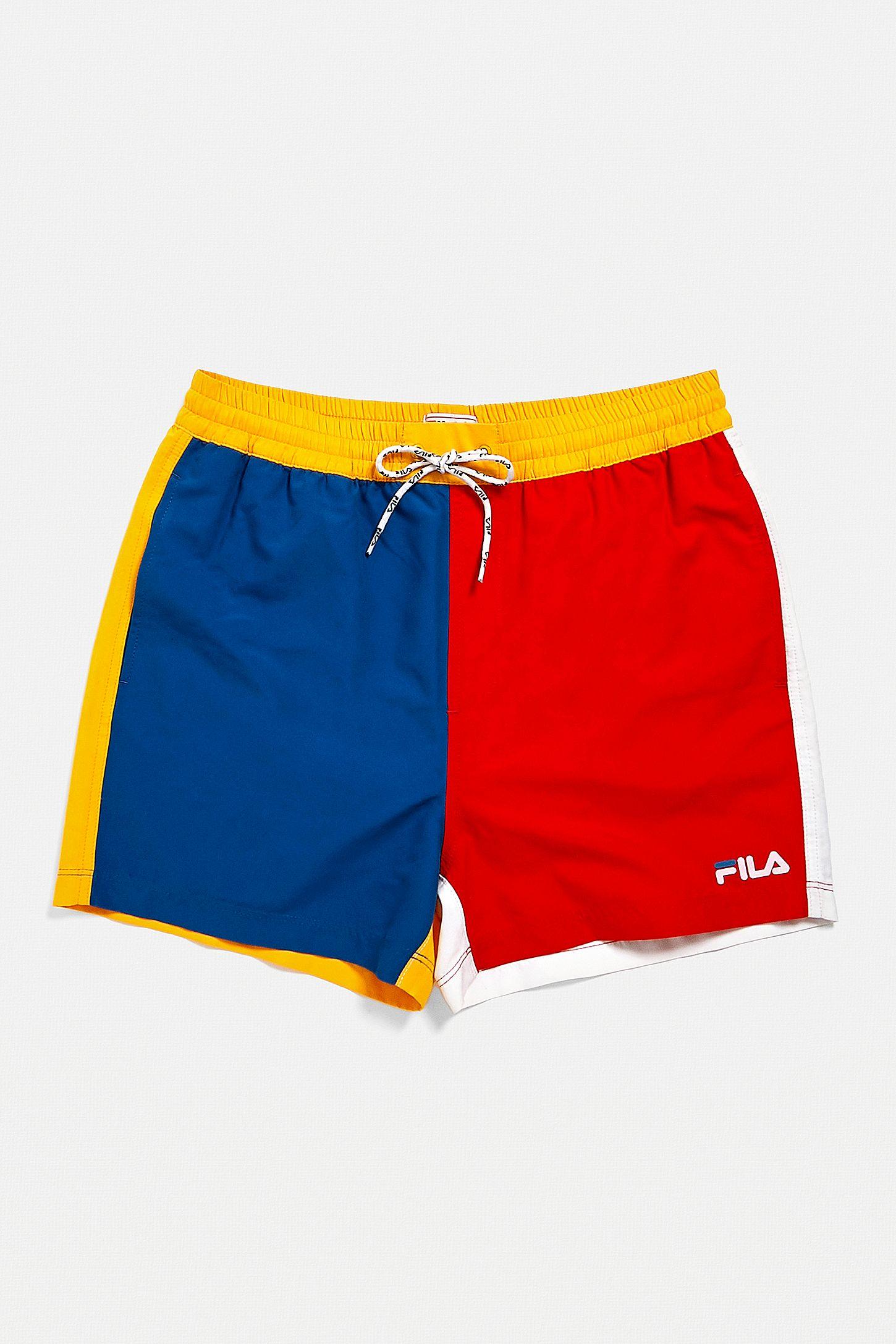 ret cool køb nu nuancer af FILA UO Exclusive Bardo '80s Swim Shorts