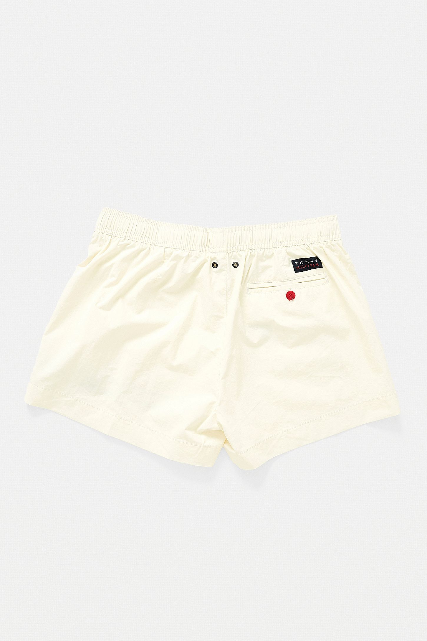 fec84fd12f Tommy Hilfiger Crest Logo White Swim Shorts | Urban Outfitters UK