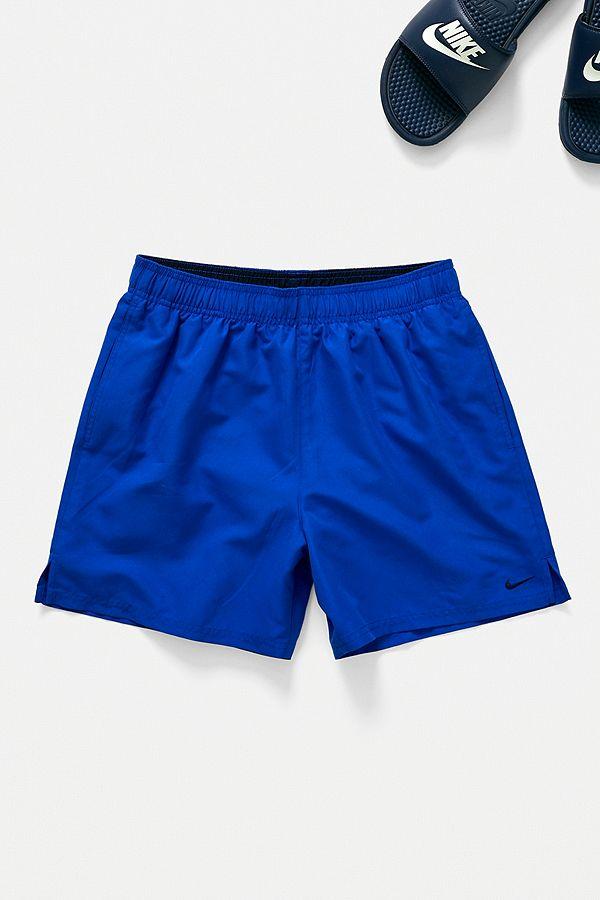 5372cdfa Nike Solid Royal Blue Swim Shorts