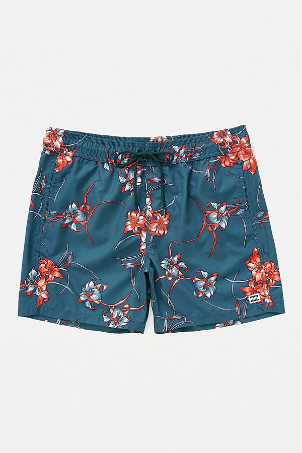 d607748778 Billabong All Day Navy Floral Swim Shorts | Urban Outfitters UK