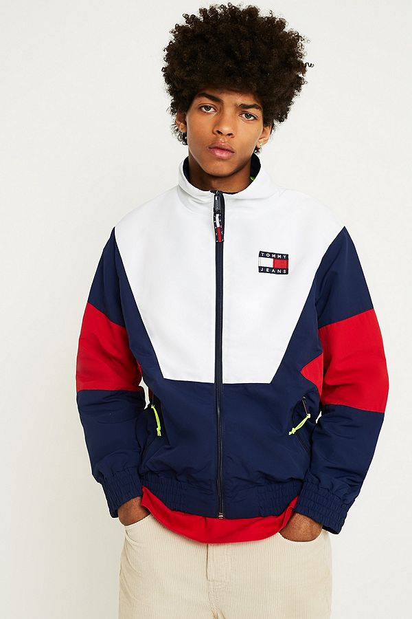 90's Track Jacket in Navy